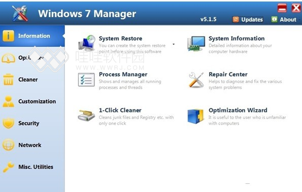 Windows7 Manager